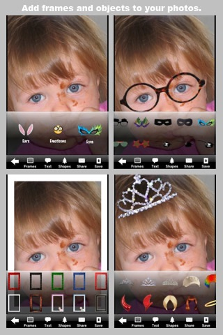 Screenshot #4 for Camera ClickMe Free: Self Portrait using face detection