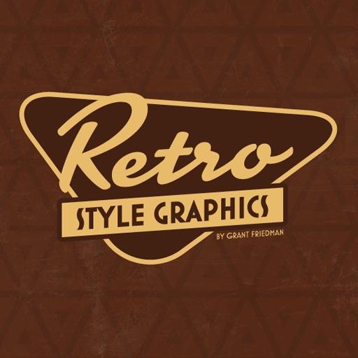 Дизайн ретро стиль