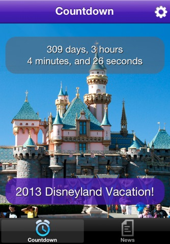 Trip Countdown for Disneyland screenshot 1