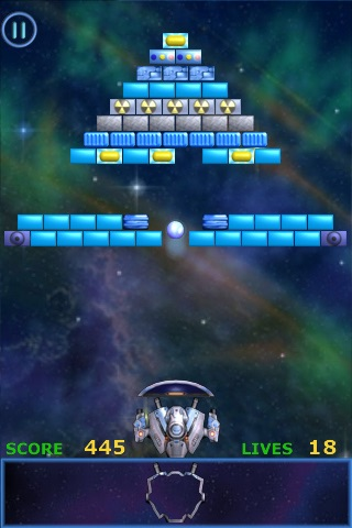 Meteor - Brick Breaker screenshot 2
