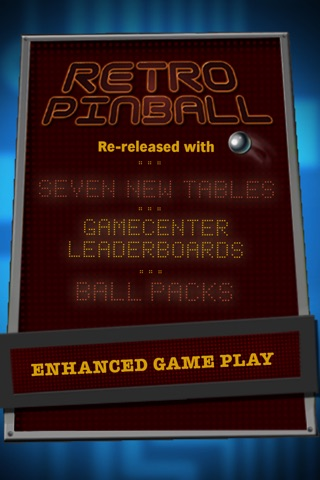 Screenshots of Retro Pinball for iPhone