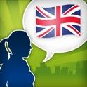 Aprender inglés rápido y divertido – Solución completa con manual de conversación, aprendizaje de vo icon