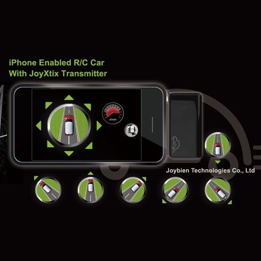 JoyXtix Transmitter with G-Sensor Control iOS App