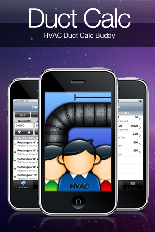 HVAC Buddy® Duct Calc screenshot 1