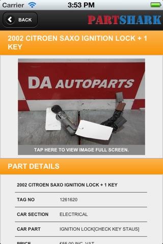 PartShark Car Spares screenshot 3