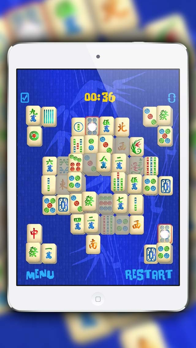 Screenshot of mahjong giochi gratis3