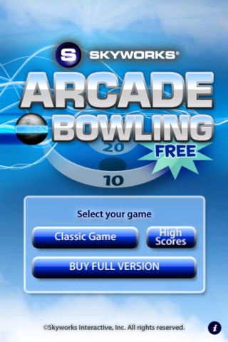Arcade Bowling™ LITE screenshot one