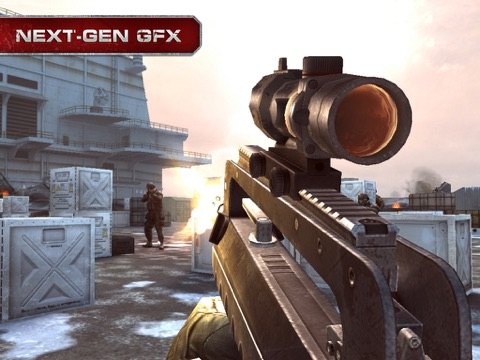 Screenshots of Modern Combat 3: Fallen Nation for iPad