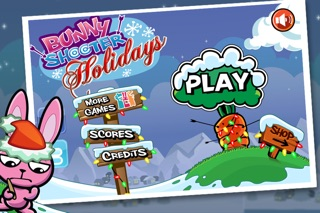 Screenshots of Bunny Shooter Christmas - a Free Game by the Best, Cool & Fun Games for iPhone