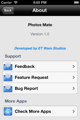 Photos Mate (Transfer photos from Mac to iOS device wirelessly) screenshot 4
