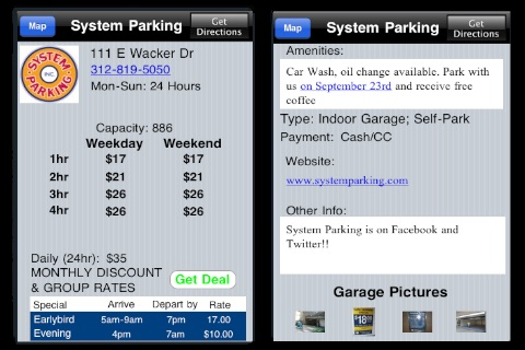 Chicago Parking screenshot 2