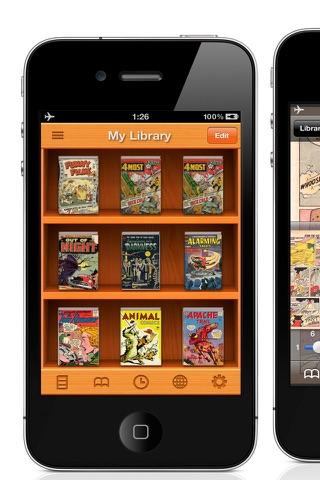 PDF/Comic Reader Bookman Pro for iPhone screenshot 1