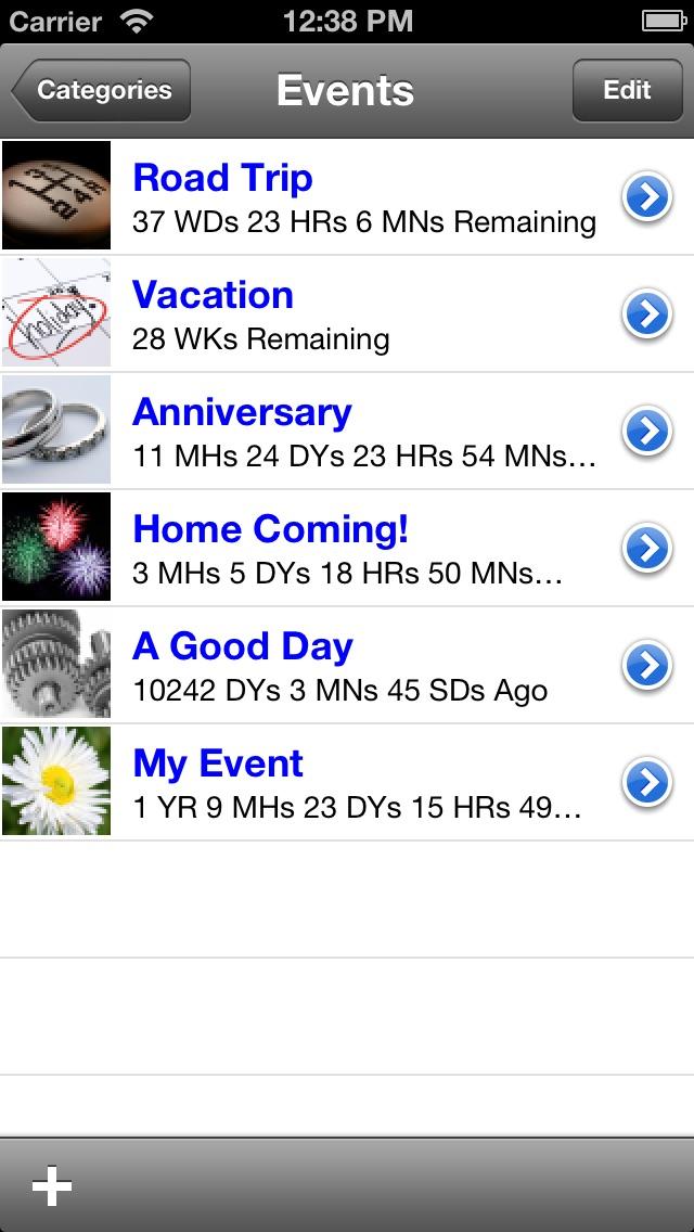 Countdown screenshot one
