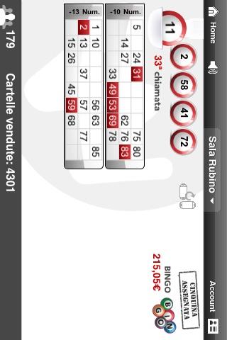 Screenshot of Real Money Bingo4