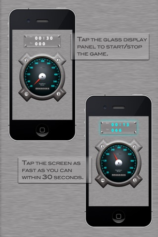 Screenshots of Tap To Crack - TapMeter Lite for iPhone