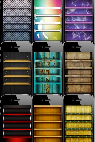 App Frames & Shelves Screenshot