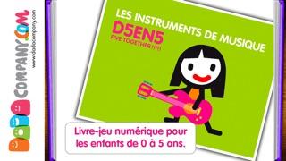 D5EN5: Les instruments - Un livre-jeu interactif pour les enfantsCapture d'écran de 1