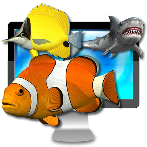 Desktop Aquarium 3D LIVE Wallpaper & ScreenSaver Par