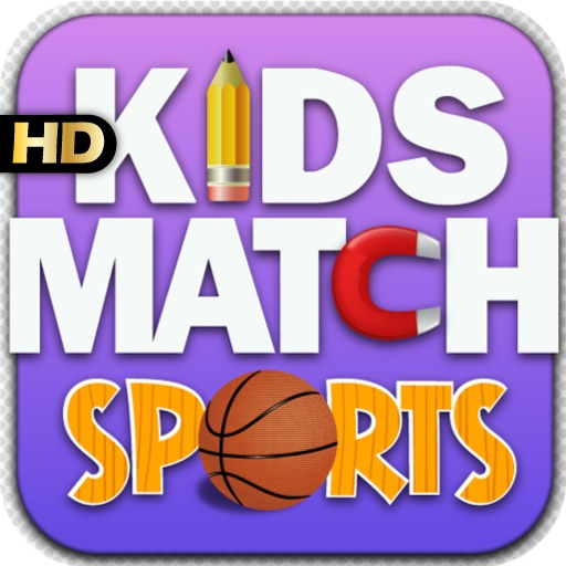 Kids Match Sports HD iOS App