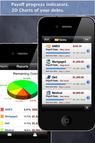 Debt Free - Pay Off your Debt screenshot 2