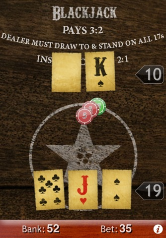 Blackjack 21 screenshot 2
