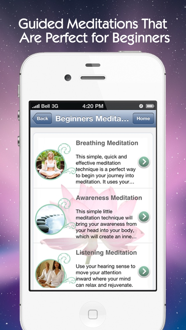 Simple Mediations: Guided meditation techniques for the meditator who wants deep sleep, relaxation and inner peaceScreenshot of 2