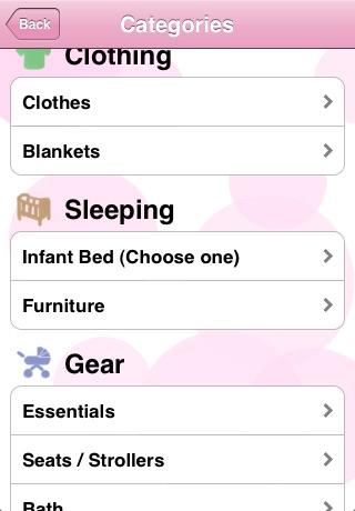 Baby Checklist screenshot 1