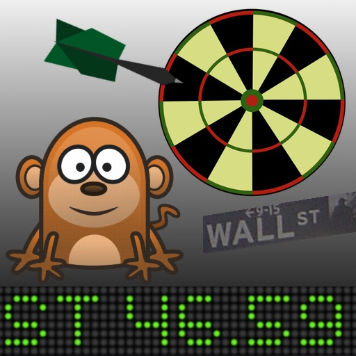 Stock Picking Darts - Invest with your Pet Monkey iOS App