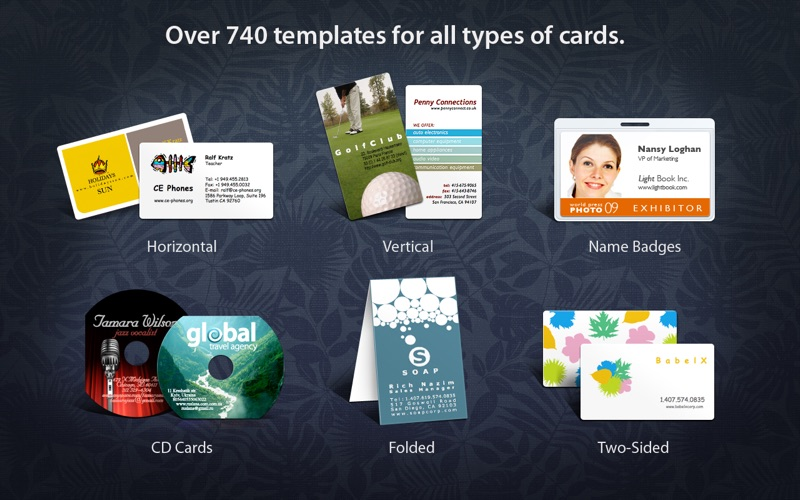 Business Card Composer 5 on the Mac App Store