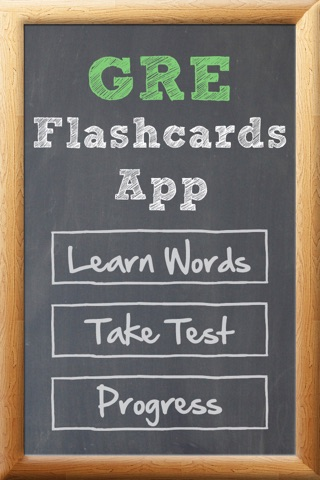 GRE Flash Cards App screenshot 1