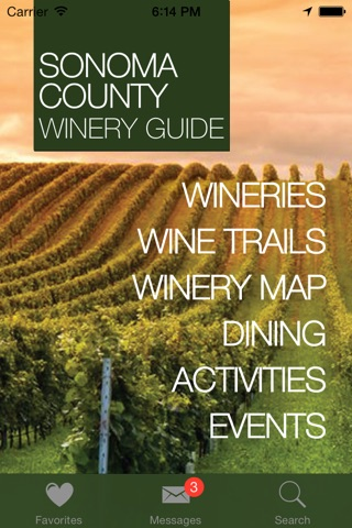 Wineries of Sonoma: A Guide to Wine in Sonoma County screenshot 1