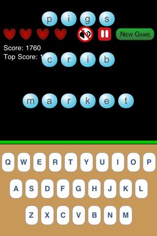 The Typing Game Free screenshot 1