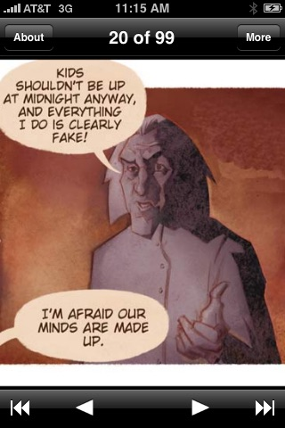 Aleister Arcane Issue 1 screenshot 3