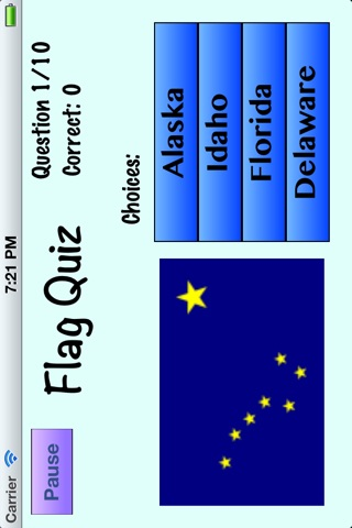 State Flag Quiz screenshot 2