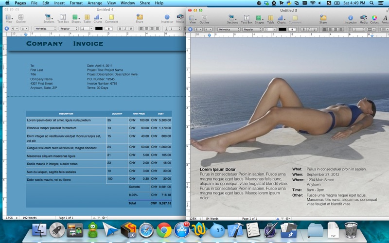 Templates for Pages by Fututime Screenshot - 2