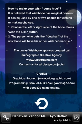 Screenshots of Lucky Wishbone - Make your dreams come true for iPhone