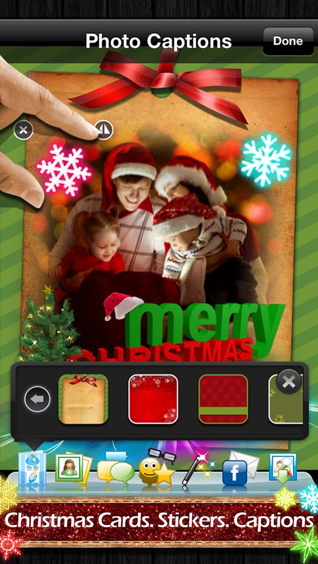 Screenshot #3 for Photo Captions Free: Frames, Cards, Collage, Text & more