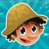 對於2-5歲的幼兒對遊戲釣魚:遊戲,拼圖和謎語的幼兒園,學前班或幼兒園。 學習 與海,水,魚,漁民和漁桿