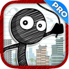 Rope And Swing Parkour Stick-man - Super Fun Run And Jump Kid Game PRO