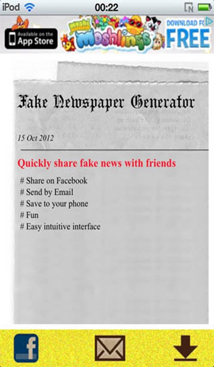 Fake Newspaper Generator by Basyboy