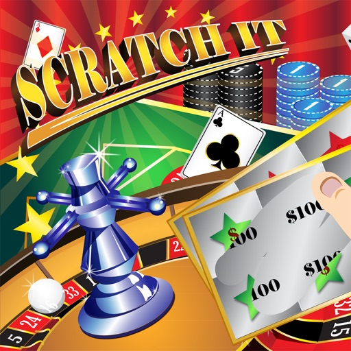 Scratch It! Jackpots – Lottery Scratch Cards Games iOS App