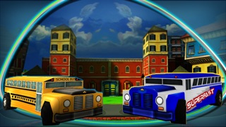 Screenshot #3 pour Kids Cars : Toy Bus Parking 3D