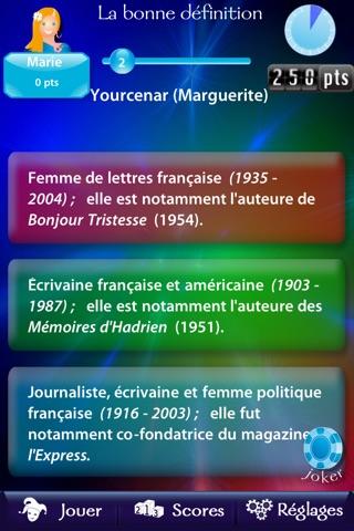 Jeu du dictionnaire L... screenshot1