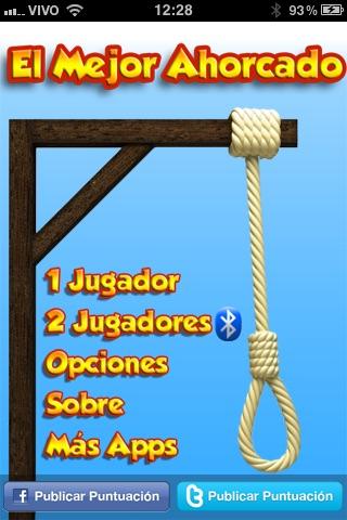 El Mejor Ahorcado (Sp... screenshot1