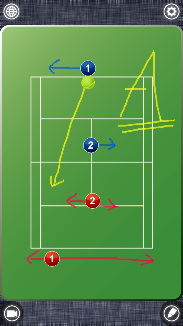 Tennis board (テニスボード) screenshot1