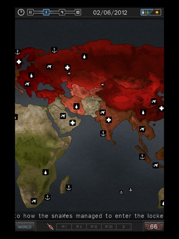 Screenshots of Pandemic 2.5 for iPad