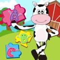 Granja Animal Puzzles - Juegos Educativos Preescolar Aprendizaje para Niños y niños pequeños