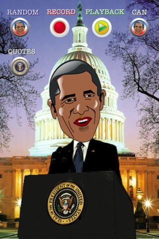 Talking Obama The President for iPhone screenshot 1