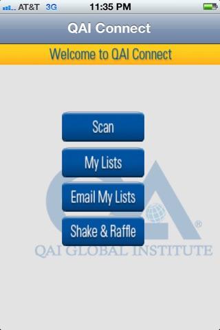 QAI Connect screenshot 1