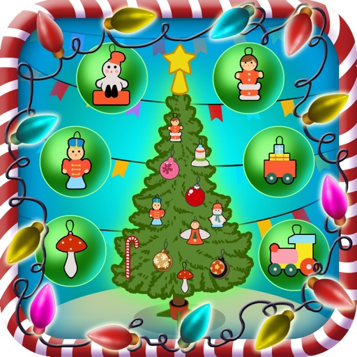 Xmas / Christmas Tree Dressing up Game for Kids Pro - Kids Safe App No Adverts iOS App